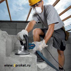 Аренда ручной шлифовальной машины по бетону