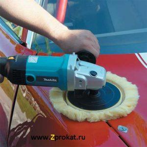 Аренда полировальной машинки для полировки авто и т.д.